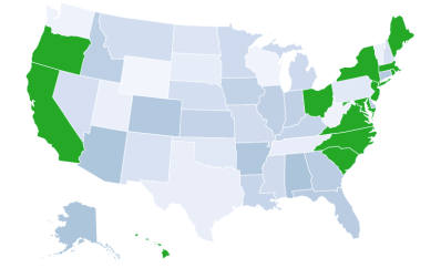 State Activites Map