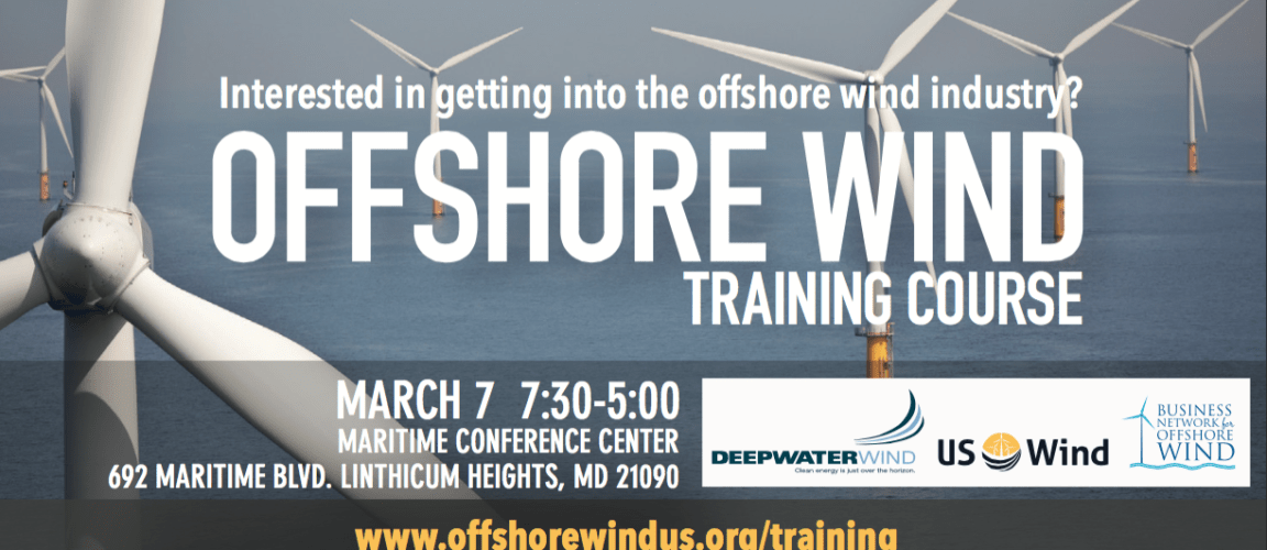 Training and Education: Laying the Foundation for the Offshore Wind Energy Revolution