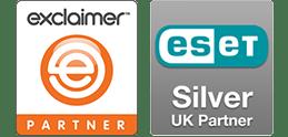Exclaimer Stationery and ESET Silver UK Partner