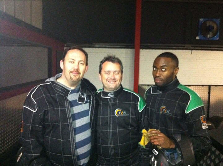Phil, Brendan and Jermaine