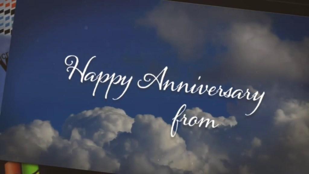 Happy anniversary microsoft