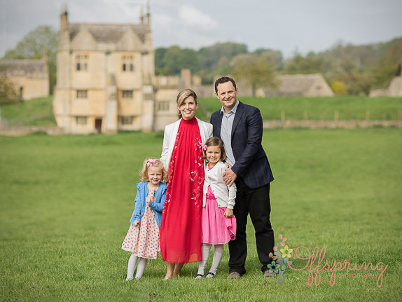 family in Chipping Campden