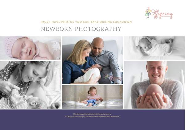 Newborn photography - Must-have photos you can take yourself PDF