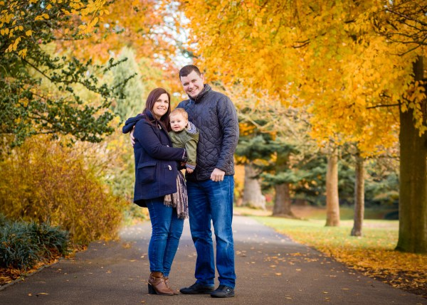 Autumn photoshoots at Jephson Gardens by Offspring Photography