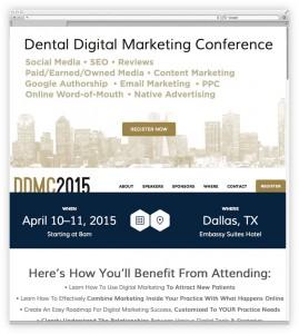 Dental Digital Marketing Conference