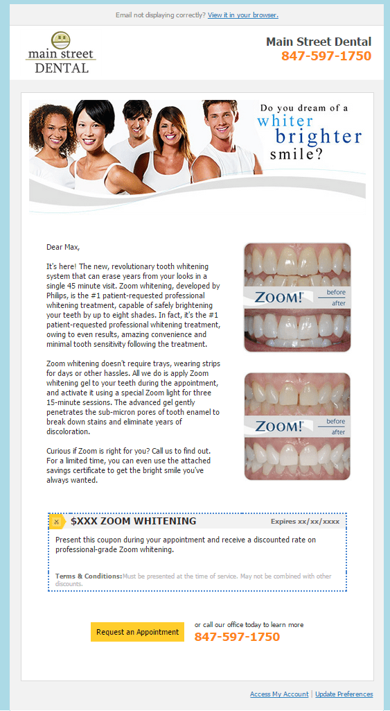 Whitening Campaigns - RevenueWell - Why You Should Market Directly To Your Teenage Patients