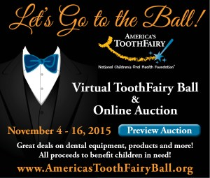Bid to Save Smiles at the Virtual ToothFairy Ball & Auction