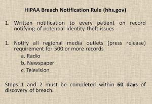 HIPAA Breach Notification Rule (hhs.gov)