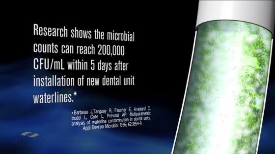 bacteria count in waterlines
