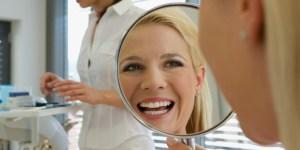 happy smiling dental patient