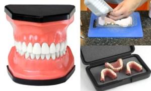 How to make chocolate teeth molds