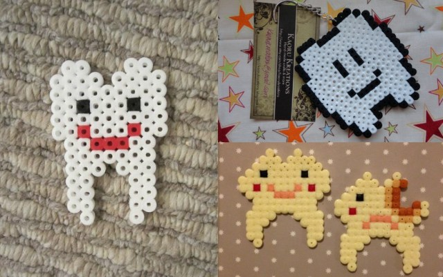 perler bead teeth styles