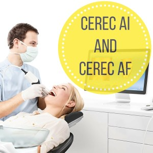 information about the differences between cerec ai and cerec af