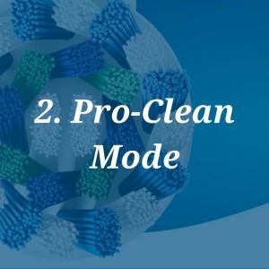 pro-clean mode
