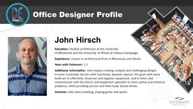 Office Designer John Hirsch