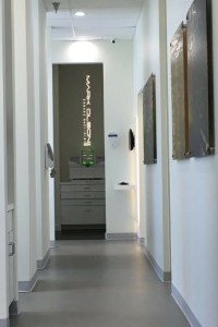 mark olson dds interior hallway