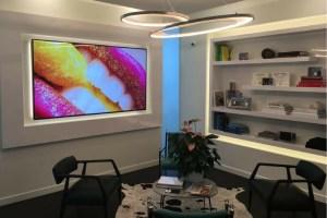 mark olson dds custom tv screen
