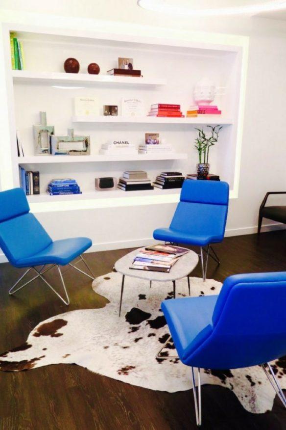 mark olson dds fashionable waiting area