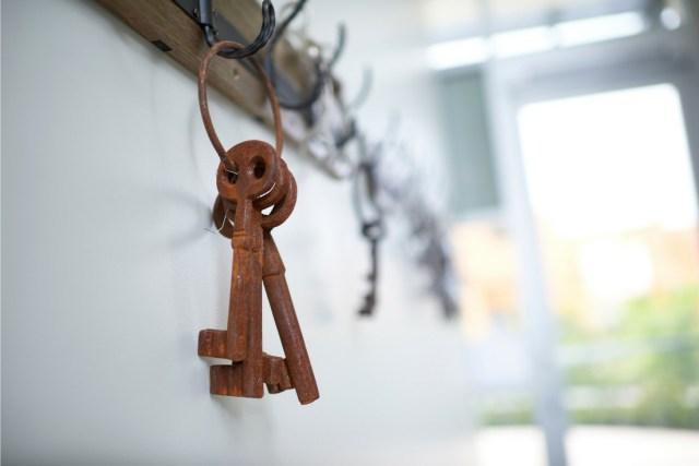 Keys Hanging in a Dental Practice