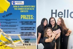 summer selfie contest idea