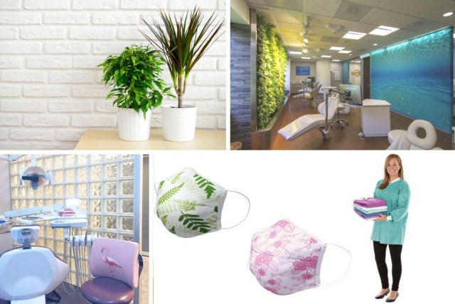 tropical vibes in your dental office