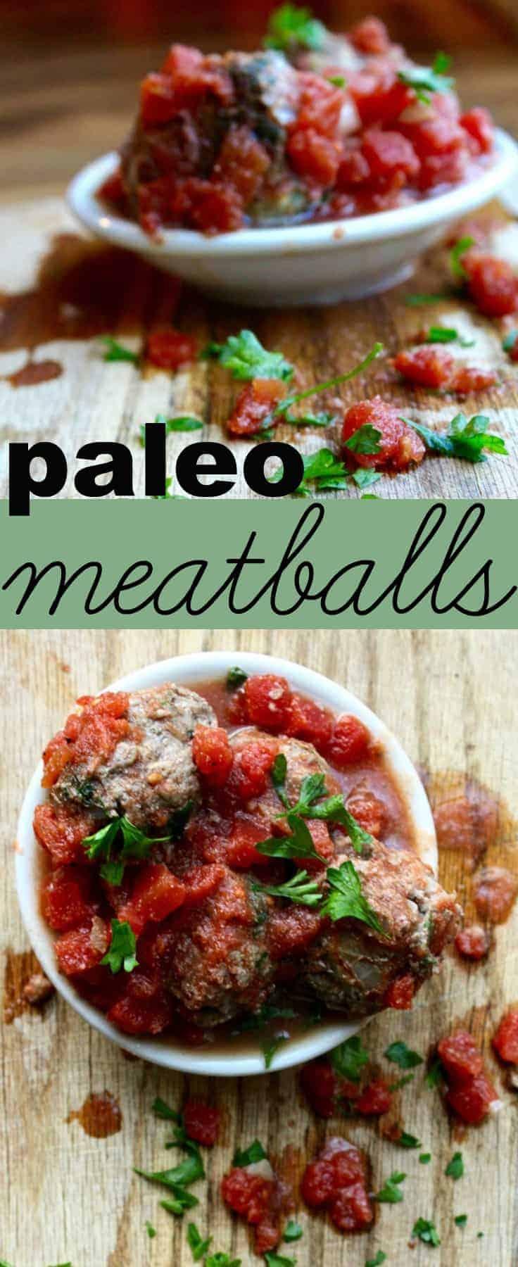 paleo meatballs