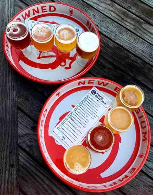 honeymoon in asheville new belgium brewery