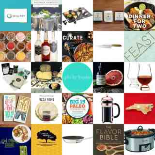 holiday gift guide 2016 | gifts for foodies