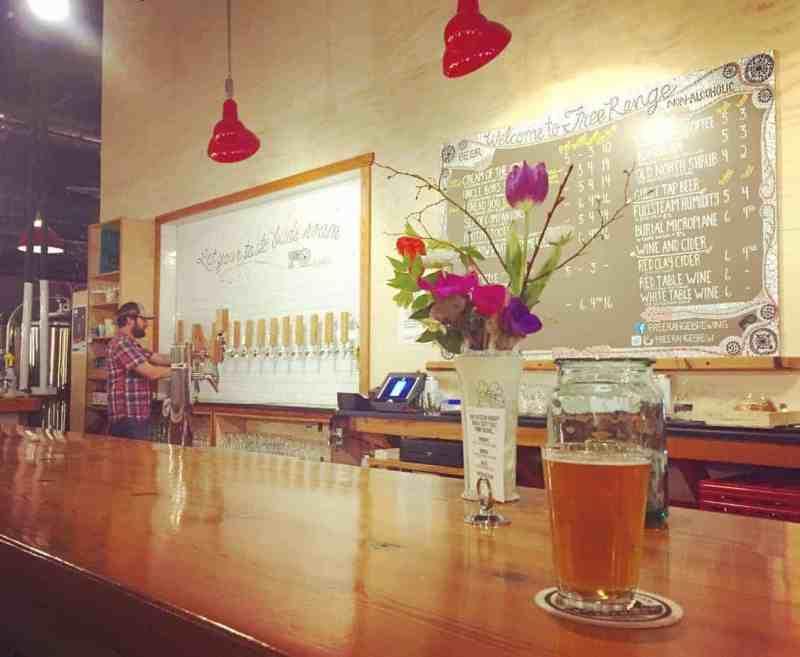 free range brewing charlotte restaurants