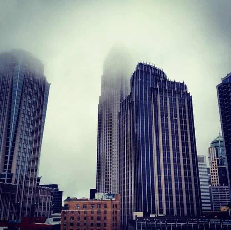 charlotte skyline blogiversary