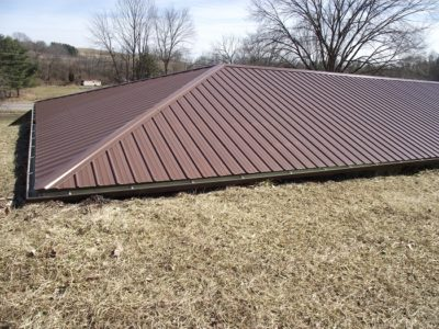 earth berm house roof