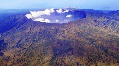 Mount Tambora, today.