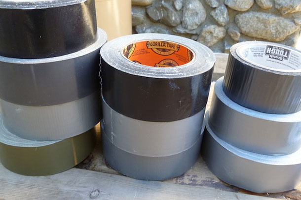 17 Ways Duct Tape Can Save Your Life (Hopefully You'll Never Have To Try No. 10)