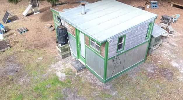 A Fully Off-Grid Home For $4,500