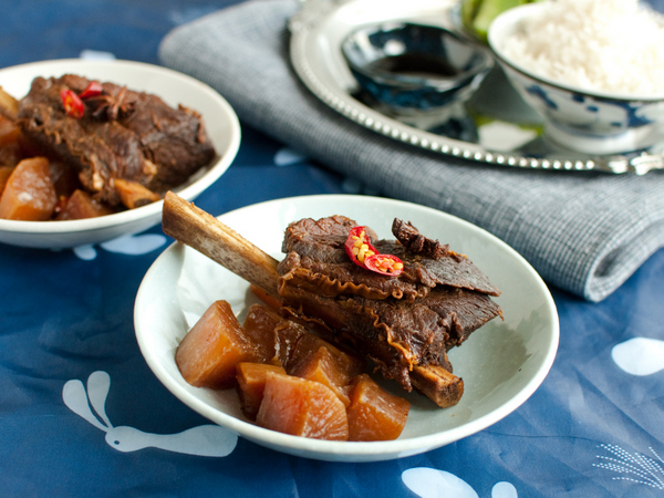 Soy sauce beef ribs