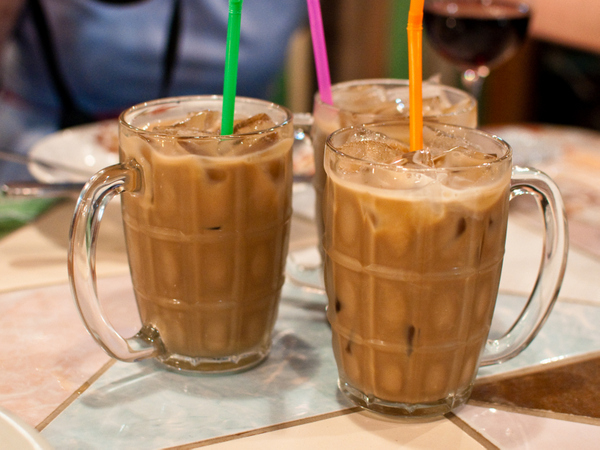 Thai milk coffee