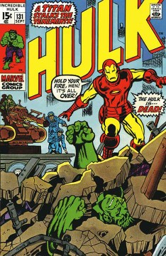 The Incredible Hulk #131 cover