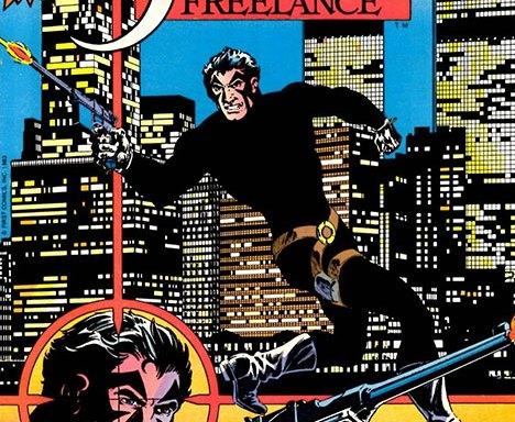 Jon Sable, Freelance #1 cover