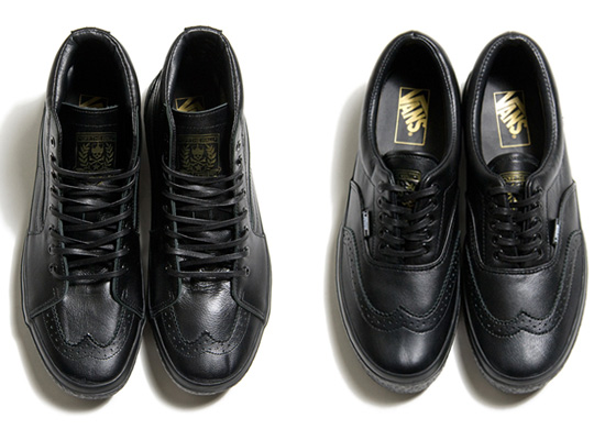 Vans Leather Wingtip Pack Fall Winter 2010 290cdce5a