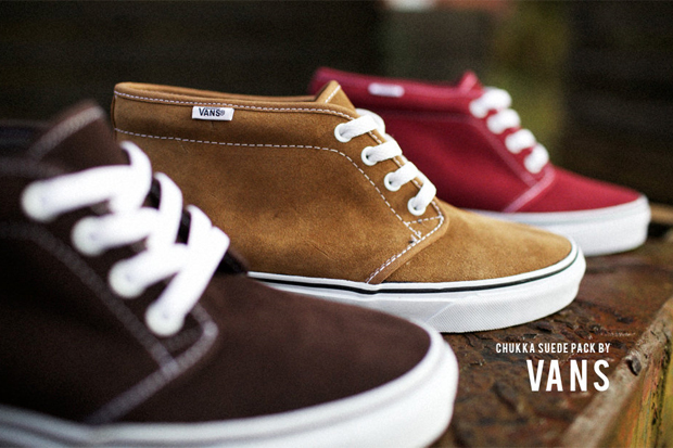 Vans Fall 2010 Chukka Boot  Suede Pack  ff4f060cb