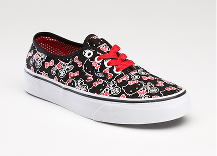 Vans x Hello Kitty – Authentic Black True White (available now!) 8183f6683