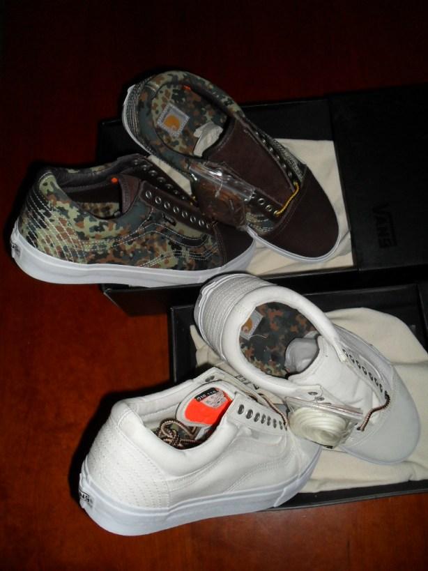 "5b834093de Erwin s pickups  Vans Syndicate x Carhartt – Old Skool ""New Style"" ""S"" (Camo    Natural)"