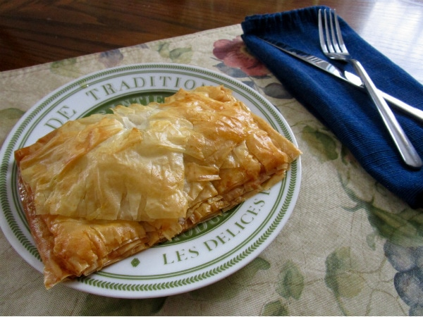 Bacon and Collard Greens Savory Pastries