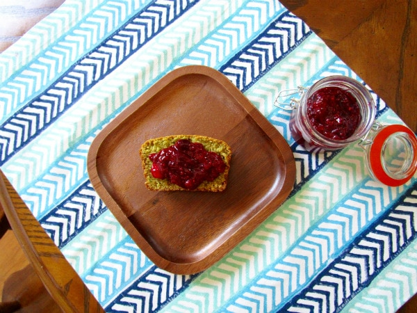 Cherry Strawberry Chia Jam