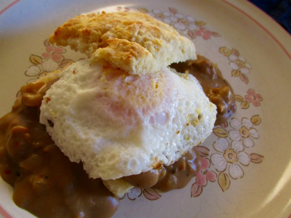 Biscuits and Beer Gravy
