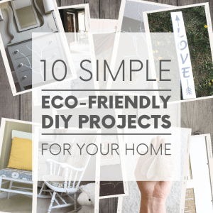 Want to green your home decor and help out the planet? Instead of buying new, try these ten eco-friendly DIY projects. Simple, sustainable... and super fun!