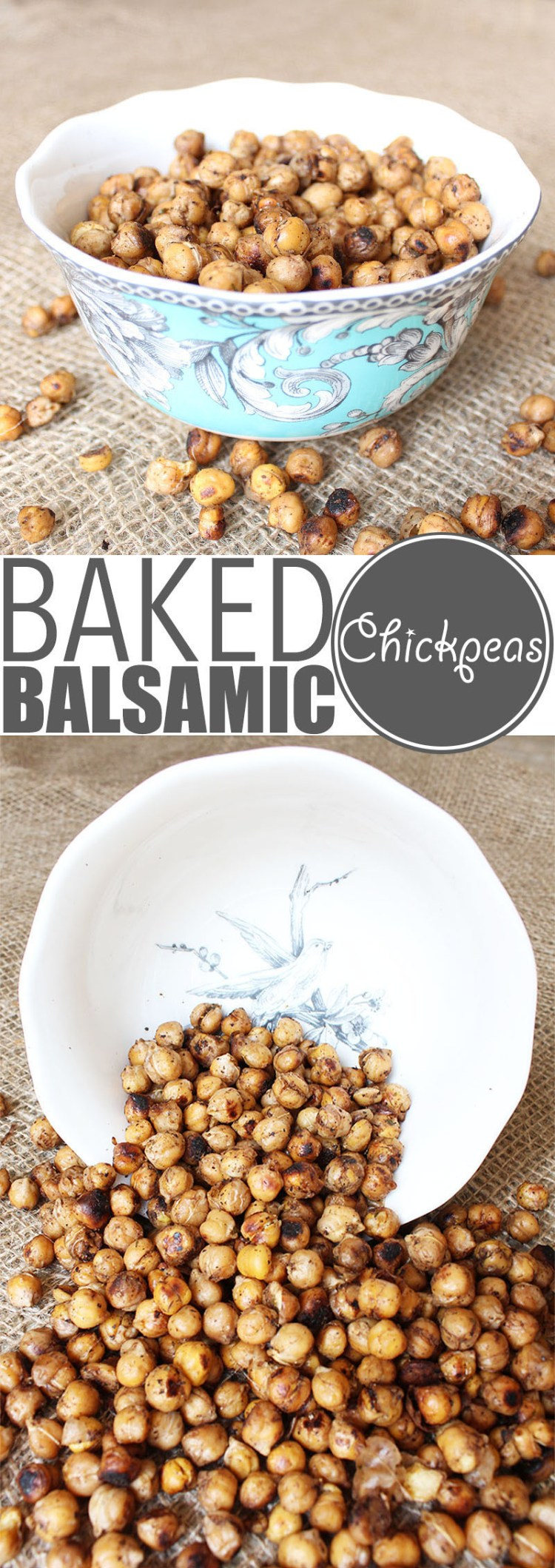"Chickpeas are crazy versatile and so is my ""world famous"" baked chickpeas recipe. Eat them warm out of the oven, as a cold snack, with salad, pasta or rice!"