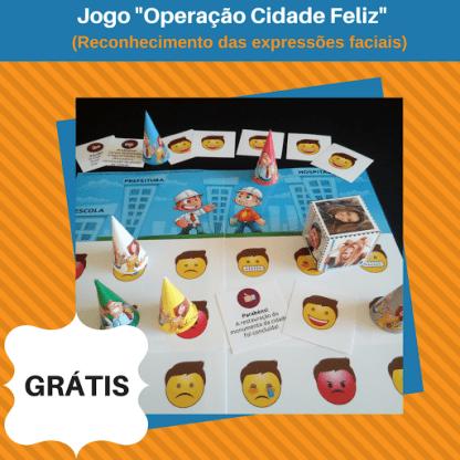 Jogo Operação Cidade Feliz (Arquivo Digital)