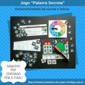 Jogo Palavra Secreta (Arquivo Digital)
