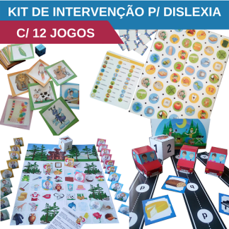 material de intervenção para dislexia